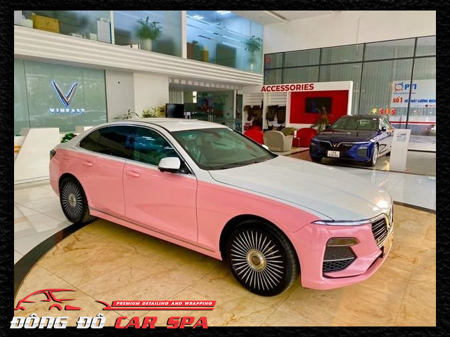 dán style maybach Vinfast Lux A2.0